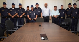 Guarda civil Municipal recebe nova farda